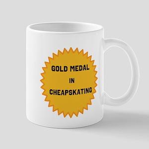 Gold Medal in Cheapskating Mugs