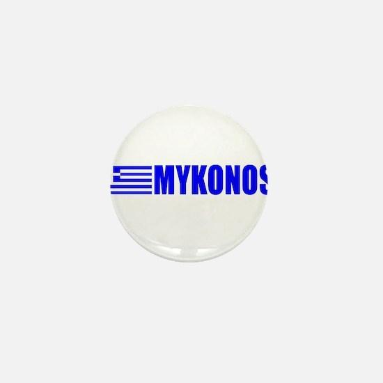 Mykonos, Greece Mini Button