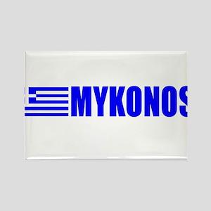 Mykonos, Greece Rectangle Magnet