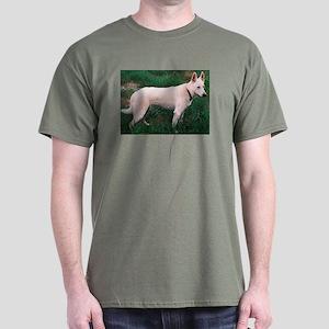 The White German Shepherd Dog Dark T-Shirt