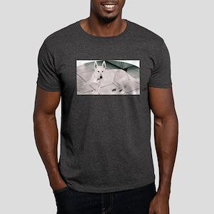 White German Shepherd Dog, to Dark T-Shirt