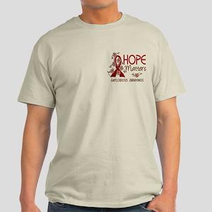 Hope Matters 3 Amyloidosis Light T-Shirt
