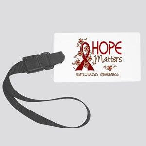 Hope Matters 3 Amyloidosis Large Luggage Tag