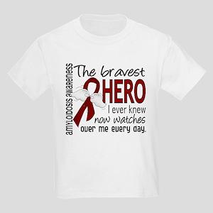 Bravest Hero I Knew Amyloidosis Kids Light T-Shirt