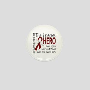 Bravest Hero I Knew Amyloidosis Mini Button
