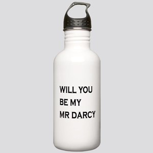 Will You Be My Mr Darcy Water Bottle