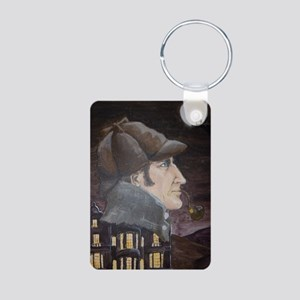 Hound of the Baskervilles Aluminum Photo Keychain