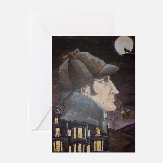 Hound of the Baskervilles Greeting Card