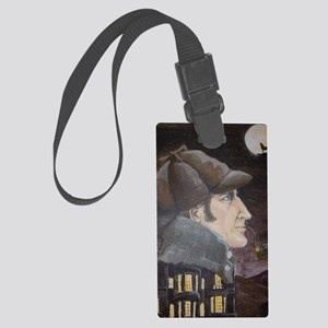 Hound of the Baskervilles Large Luggage Tag