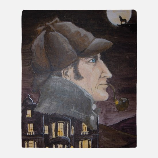 Hound of the Baskervilles Throw Blanket