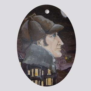 Hound of the Baskervilles Oval Ornament