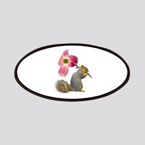 Squirrel Pink Flower Patches