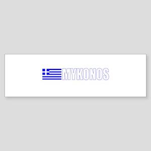 Mykonos, Greece Bumper Sticker