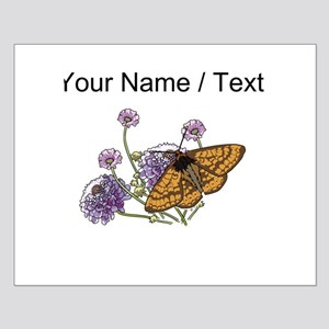 Custom Monarch Butterfly And Flowers Posters