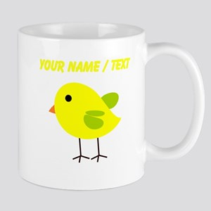 Custom Yellow Chick Mugs