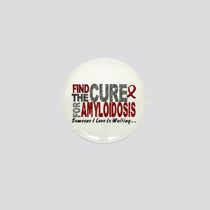 Find the Cure Amyloidosis Mini Button