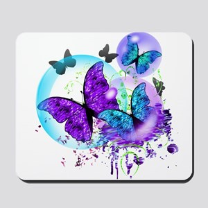 Bubble Butterflies CM BB Mousepad