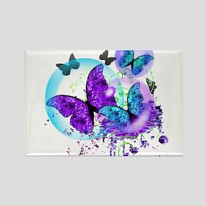 Bubble Butterflies CM BB Magnets