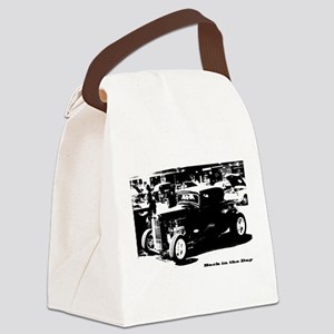Back In the Day Canvas Lunch Bag