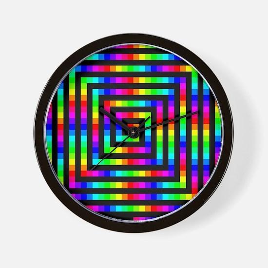 Colorful Art Wall Clock