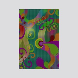 Abstract Art Rectangle Magnet
