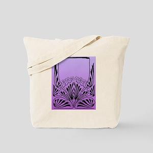Purple Art Tote Bag
