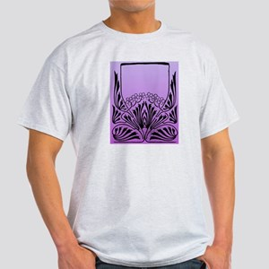 Purple Art Light T-Shirt