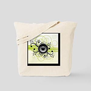 Speakers Art Tote Bag