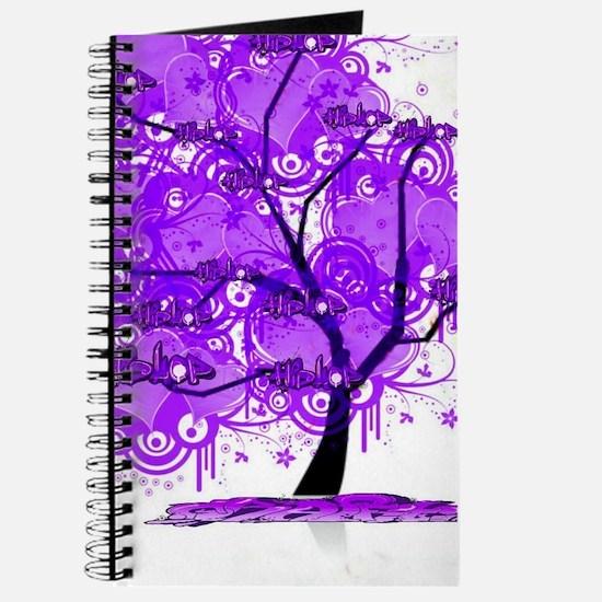 Purple Tree Art Journal