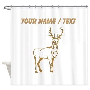 Browning Buck Shower Curtains