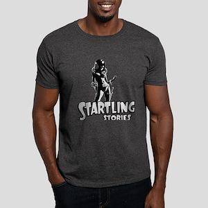 Startling Stories Space Girl Vintage Dark T-Shirt