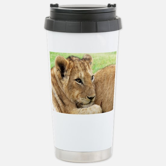 Lion Stainless Steel Travel Mug