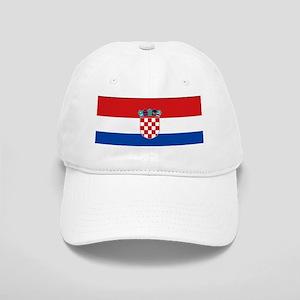 Croatia Flag Cap