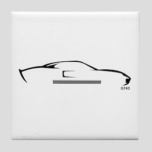 Ford GT40 Tile Coaster