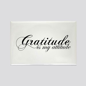 Gratitude is my Attitude Rectangle Magnet