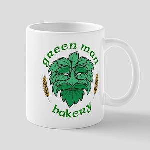 Green Man Bakery Mug