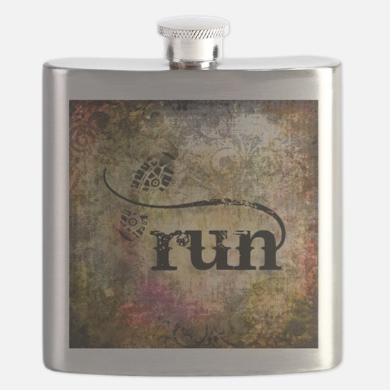 Run by Vetro Jewelry & Designs Flask