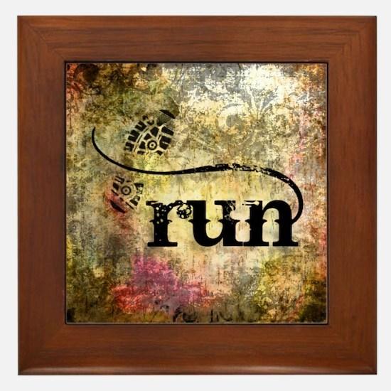 Run by Vetro Jewelry & Designs Framed Tile