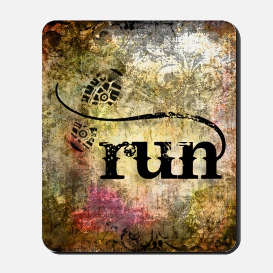 Run by Vetro Jewelry & Designs Mousepad