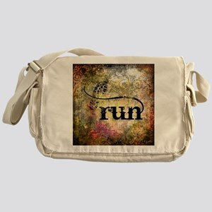 Run by Vetro Jewelry & Designs Messenger Bag