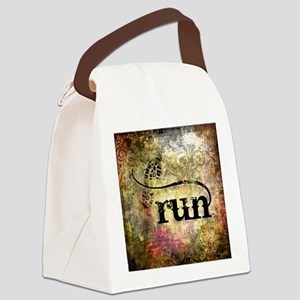 Run by Vetro Jewelry & Designs Canvas Lunch Bag