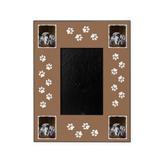 Keeshond Playtime Picture Frame