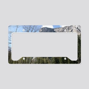 El Capitan in Yosemite NP License Plate Holder