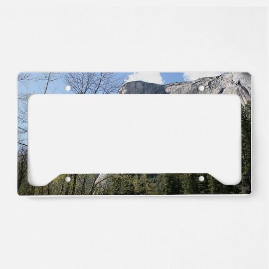 El Capitan in Yosemite NP License Plate Holder