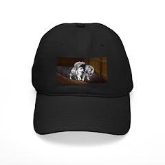 Keeshond Playtime Baseball Hat