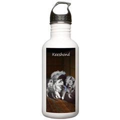 Keeshond Playtime Water Bottle
