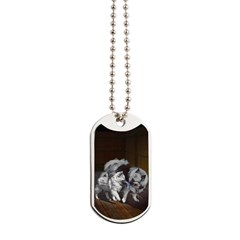 Keeshond Playtime Dog Tags