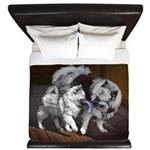 Keeshond Playtime King Duvet