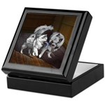 Keeshond Playtime Keepsake Box