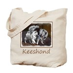 Keeshond Playtime Tote Bag